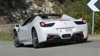 Ferrari 458 Spider video review