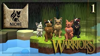 Niche: Let's Play| Warrior Cats Challenge| Ep. 1 | Birth of the Clan!