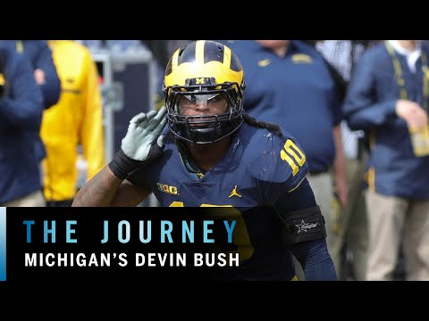 Behind the Scenes with Devin Bush | Michigan | Big Ten Football | The Journey