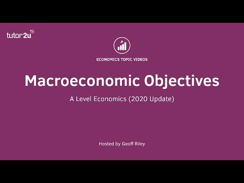 Macroeconomic Objectives (2020 Update) | A-Level Economics