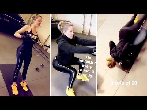 Khloe Kardashian complete workout and diet plan - Khloe Kardashian Fitness Mantra