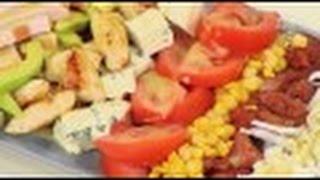 Кобб-салат / рецепт от шеф-повара /  Илья Лазерсон / Обед безбрачия / американская кухня