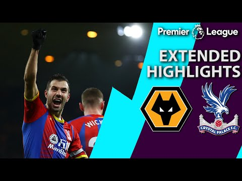 Wolves v. Crystal Palace | PREMIER LEAGUE EXTENDED HIGHLIGHTS | 1/2/19 | NBC Sports