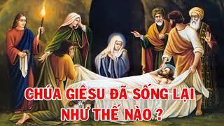 Chúa Giêsu đã sống lại như thế nào - Bài giảng của Đức Cha Khảm