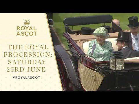 The Royal Procession: Saturday 24th June | Royal Ascot 2018