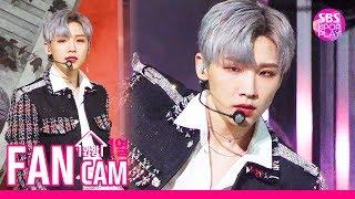 [고음질/안방1열 직캠4K] AB6IX 전웅 'BLIND FOR LOVE' (AB6IX JEON WOONG Fancam)│@SBS Inkigayo_2019.10.20