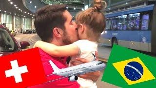 Papai Estamos de Volta | Vlog Carina Fernandes