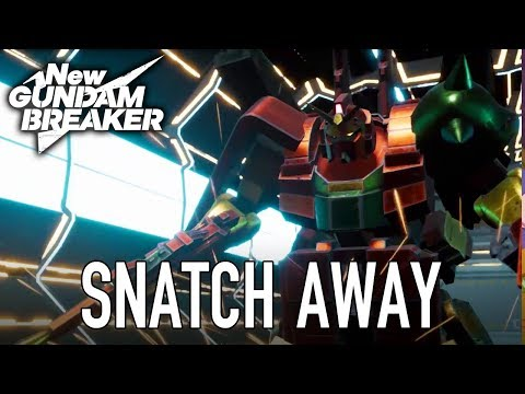 New Gundam Breaker - PS4/PC -  Snatchaway (Teaser Trailer)