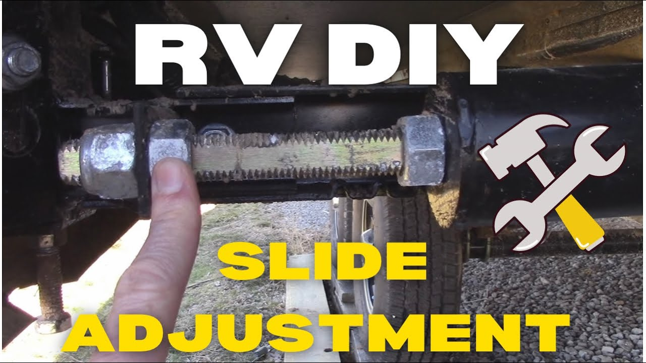 RV Slide Adjustment  YouTube