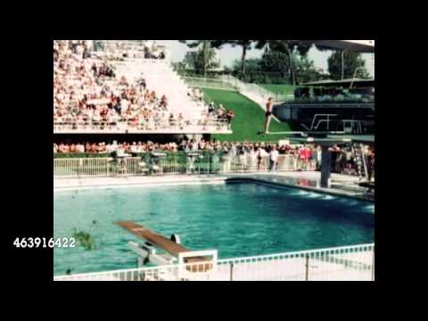 1960 Summer Olympic Male Divers Competition - Rome, Italy Home Movie 463916422