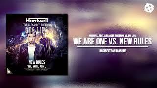 Hardwell &amp Alexander Tidebrink vs. Dua Lipa - We Are One vs. New Rules (Luigi Beltran M ...
