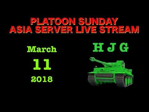 Platoon Sunday Asia Server with Hughbert Jass