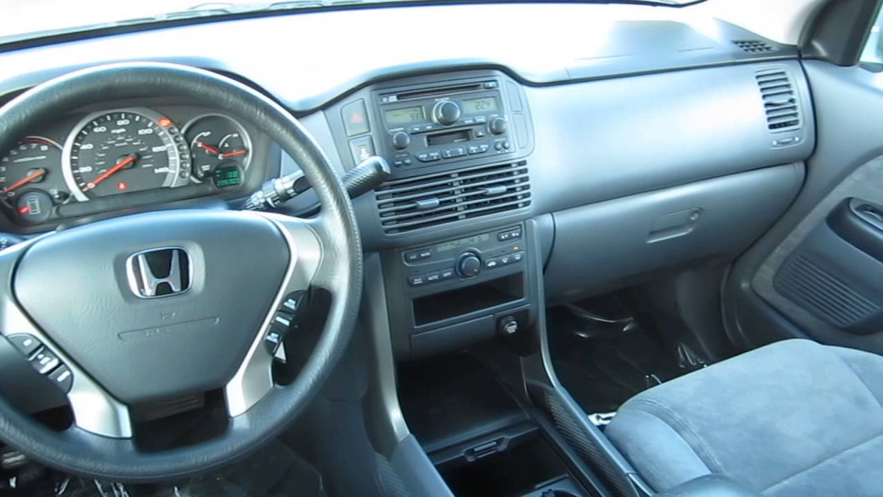 2003 honda pilot green stock 6796a interior youtube. Black Bedroom Furniture Sets. Home Design Ideas