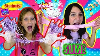 CANDY STARBURST SLIME!! DIY YUMMY SPRINKLE SLIME YOU CAN EAT! Easy Method