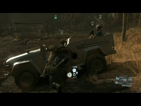 How to properly Extract the 4 child soldiers being trained at Masa Village MGS5 Ep.13 Pitch Dark