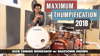 TUNE YOUR BASS DRUM QUICK & EASY! - Kick Tuning Workshop