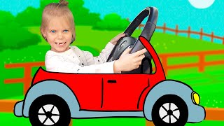 Learn Transport Names - for Kids and Toddlers | Educational video for children