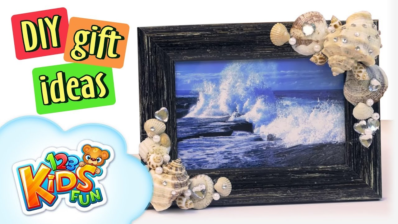Diy By Creative Mom 9 How To Make Handmade Seashells Photo Frame