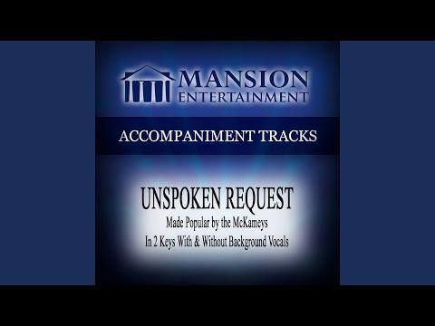 Unspoken Request (Vocal Demonstration)
