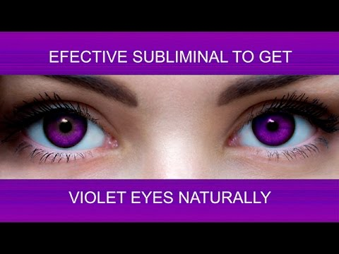 How To Get Silver Eyes Naturally