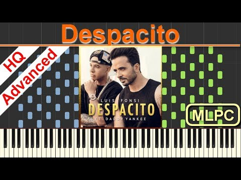 Luis Fonsi feat. Daddy Yankee - Despacito I Piano Tutorial & Sheets by MLPC