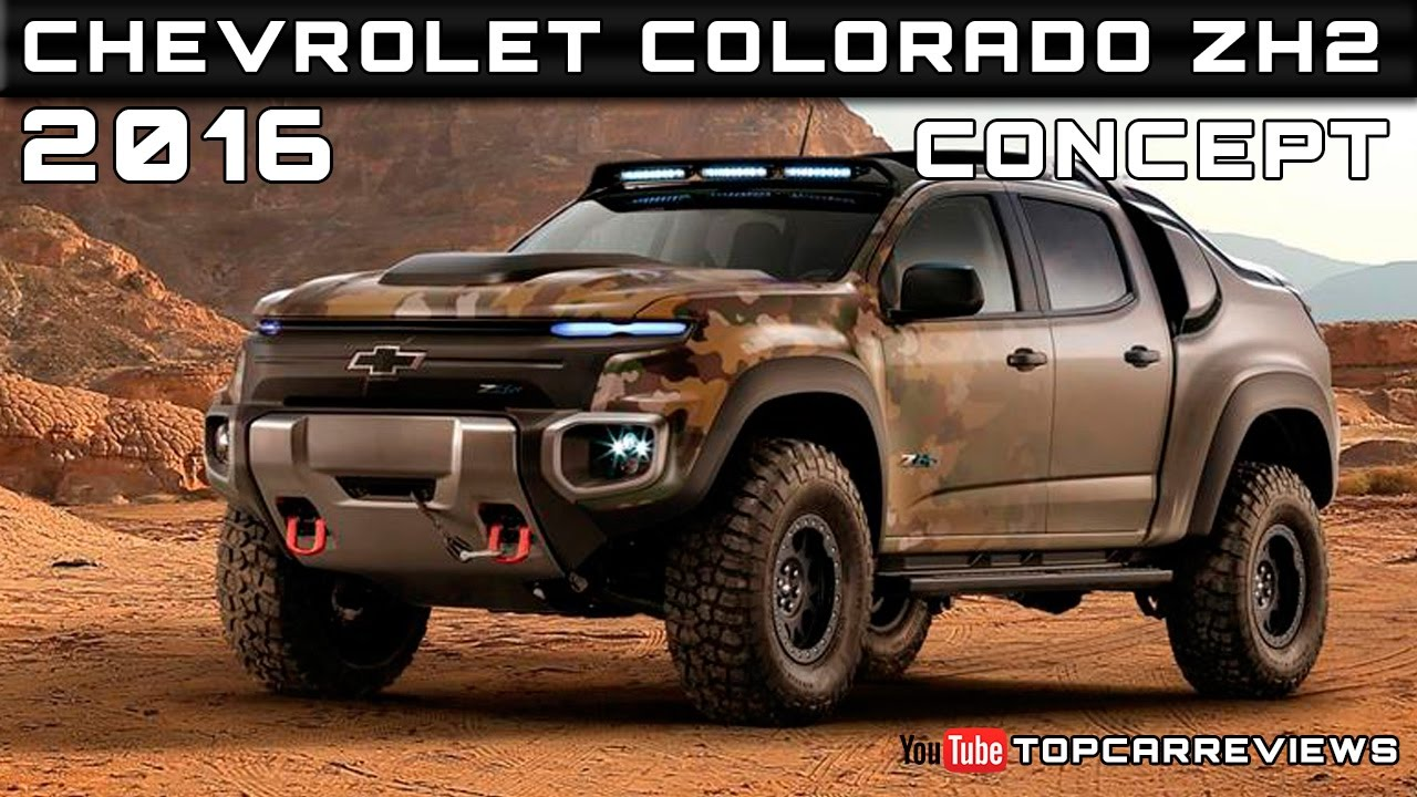 2016 chevrolet colorado zh2 concept review rendered price. Black Bedroom Furniture Sets. Home Design Ideas
