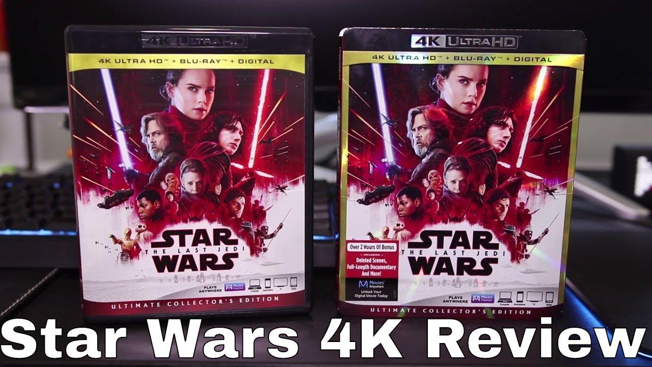 Star Wars: The Last Jedi 4K Blu-Ray Review