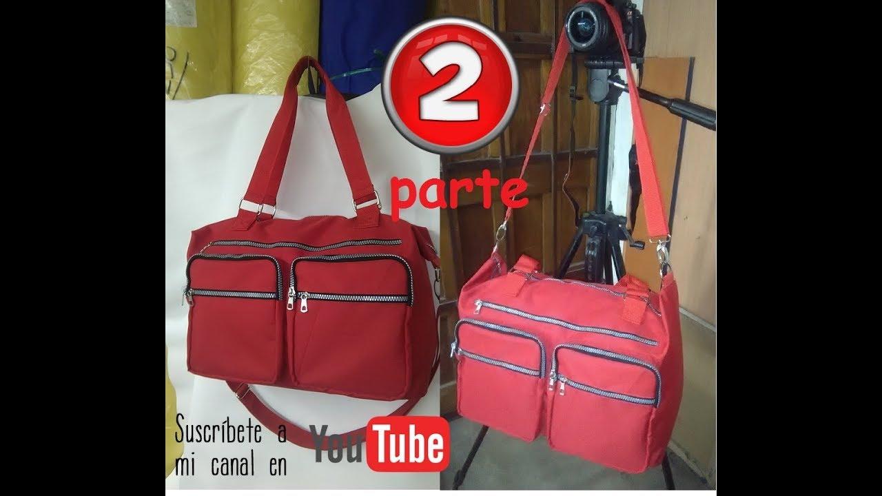 294b22aee bolso de viaje o pañalera PARTE 2 TRAVEL BAG OR DIAPER BAG 2 - YouTube