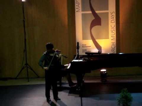 "Sarasate: Concert Fantasy on Gounod's ""Faust"", op. 13 - Pedro Barreto (p.2/2)"