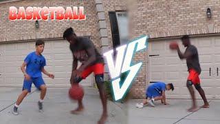 DAS ERSTE MAL BASKETBALL 🏀 SESSION IN AMERIKA 🇺🇸 - ich wurde rasiert..😱..🇩🇪 vs 🇺🇸 vlog #4