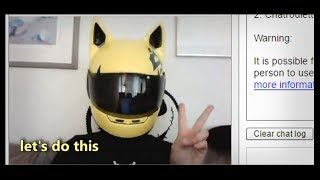 Celty Sturluson visits: Chat Roulette & Omegle
