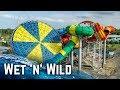 ALL WATER SLIDES at Wet 'n' Wild Sydney! (GoPro)