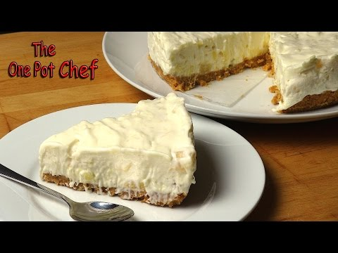 No Bake Pineapple Cream Cake | One Pot Chef
