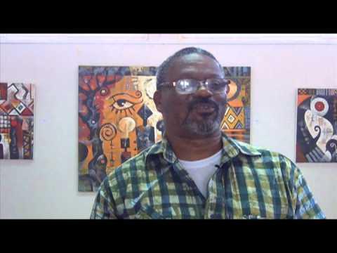 Part 2 of 3 Ghana Art Exhibition with Wiz Kudowor & Sami Bentil