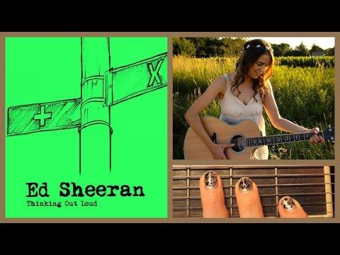 ♥ Thinking Out Loud - Ed Sheeran Guitar Tutorial // Easy Chords ♥