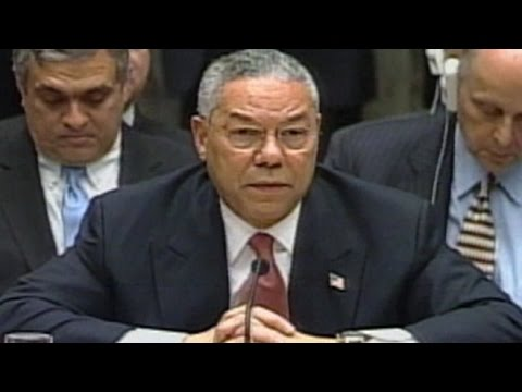 Feb. 5, 2003: Colin Powell on WMD #TBT