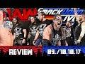 WWE RAW vs. SmackDown Review - VEREINT! - 09./10.10.17 (Deutsch/German)