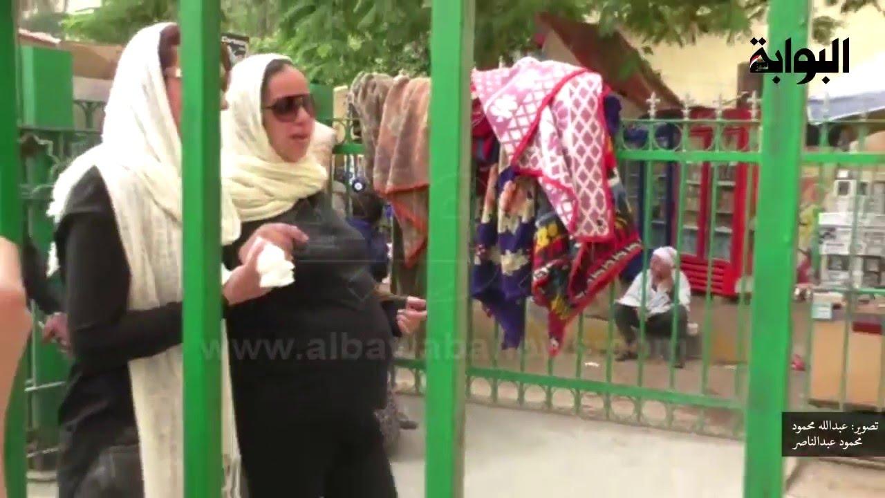 زوجة وائل نور الحامل تصر على حضور تشييع جنازته Youtube