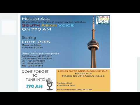 Radio South Asian Voice Toronto