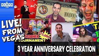 🔴 LIVE 🎉 3 Year Anniversary Special💰 $1450++ @ Cosmo Las Vegas ✪ BCSlots