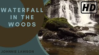 Forest Waterfall Nature Sounds Birds Singing-Natural Calming Sleep Sound of Water