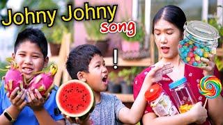 Johny Johny yes papa! Sister Sister!! I am hungry! - เกรซสไมล์X Win Ryu Smile Kids