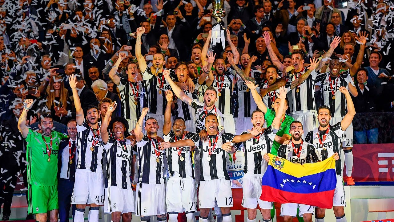 We Won Again Juventus Coppa Italia Champions Youtube