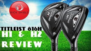 NEW TITLEIST H1 & H2 HYBRID REVIEW