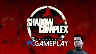 Shadow Complex Remastered Gameplay (PC HD)