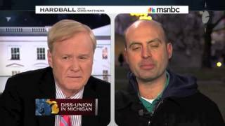 Download Chris Matthews Tries to Make Michigan Right to Work Law About the Koch Brothers, Not Unions