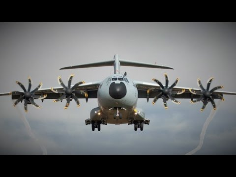 New Improved Edit-Flying high over Blackpool New RAF Airbus A400M