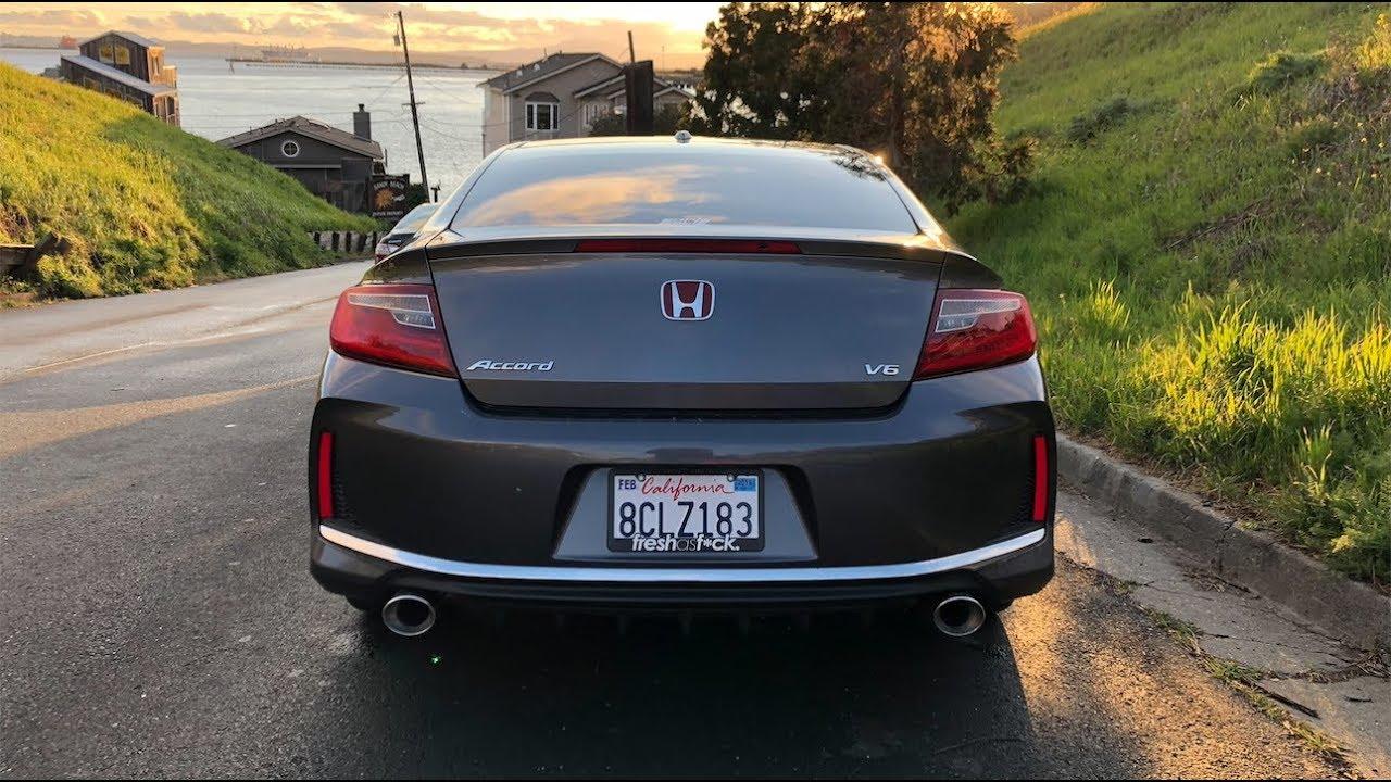 2017 honda accord coupe v6 borla axleback exhaust