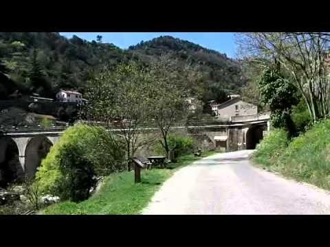 Vall e de l 39 eyrieux v lo par la voie verte youtube for La chambre verte truffaut youtube
