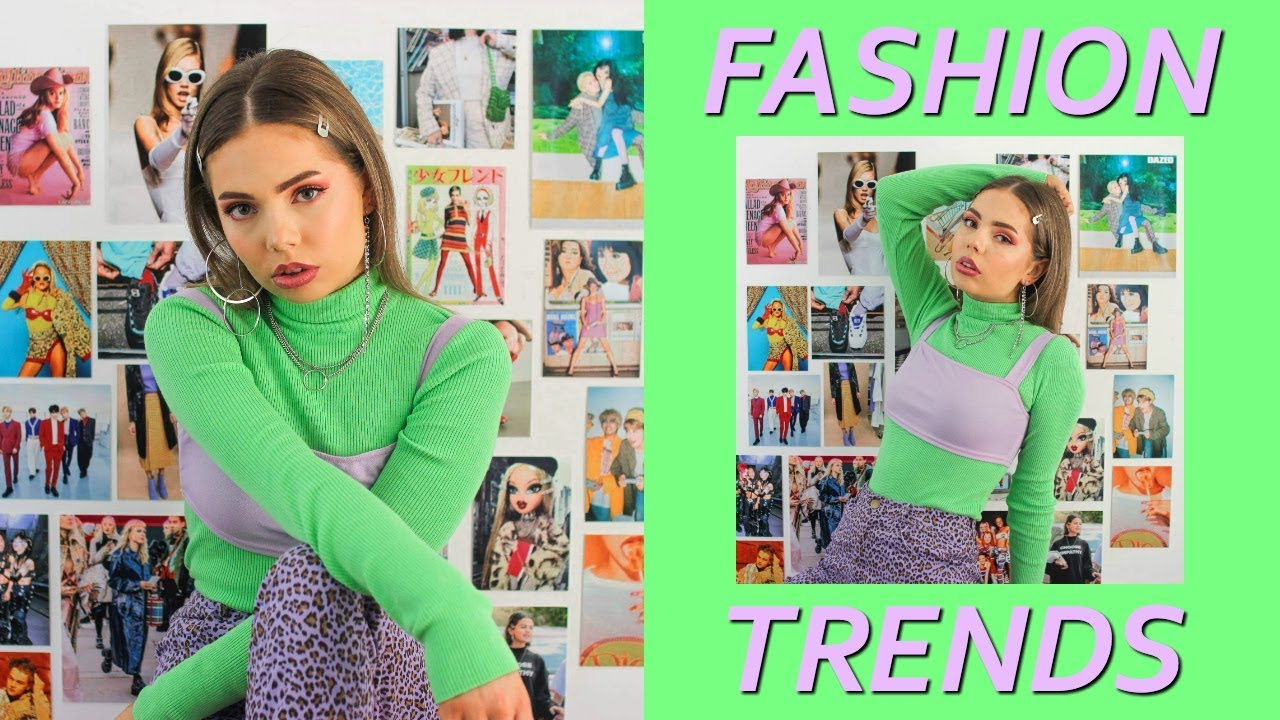 Top 2019 Fashion Trends!